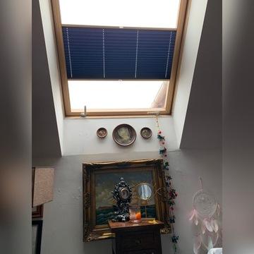 Rolety plisowane do okien dachowych-na zamówienie.