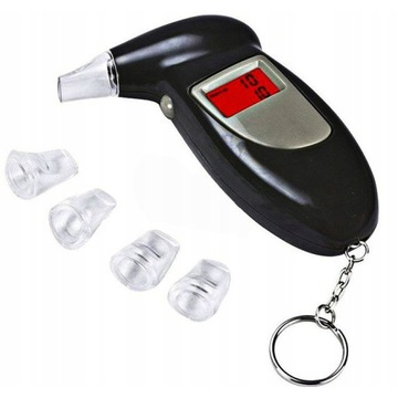 CYFROWY ALKOMAT WYŚWIETLACZ LCD+USTNIKI,licytacja!