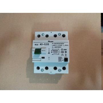 Wyłącznik różnicowoprądowy Kopp 40A