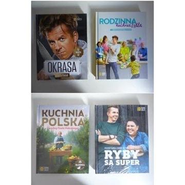 Kuchnia Lidla 4 x Rodzinna, Okrasa, Ryby, Słodka