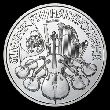 Wiedeńscy Filharmonicy 1 uncja srebra 2020 r.