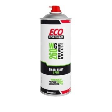 Smar biały z PTFE WG260 spray ecochemical