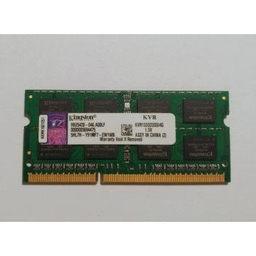 Pamięć do laptopa Kingston 4GB DDR3 CL9
