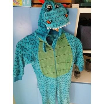 Strój przebranie krokodyl aligator 4 lata zielony