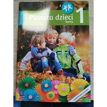 Planeta dzieci karty pracy 5-latek