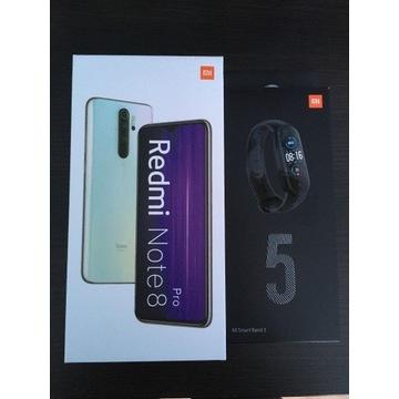 Redmi Note 8 Pro 6/64 Pearl White + Mi Band 5