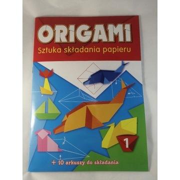 Książeczka Origami zestaw 2 poradniki