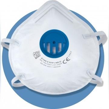 Maska anty wirusowa KORONAWIRUS FFP1 medyczna ce