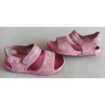 lekkie piankowe sandałki różowe rozmiar 29 19,8 cm