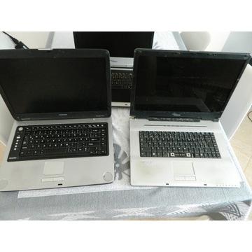 laptop toshiba siemens sony 4 sztuki