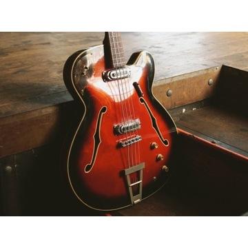 FRAMUS Star Bass '66 Hollow Gitara Basowa