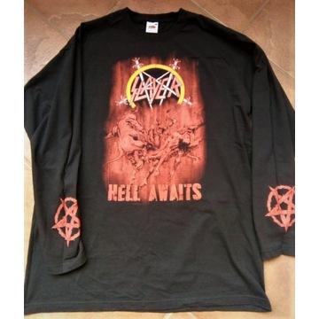 SLAYER - Hell Awaits - longsleeve - L - nowy !!!