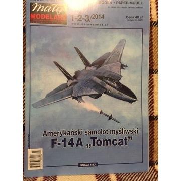 Mały modelarz F-14A Tomcat