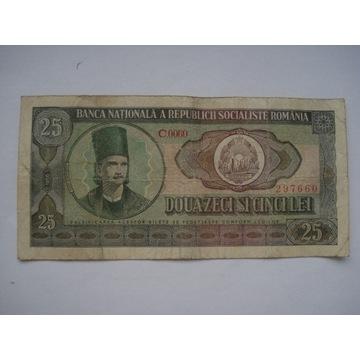Rumunia  25 LEI  z 1966 r.
