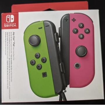 Kontroler NINTENDO Switch Joy-Con Pink Green Neon