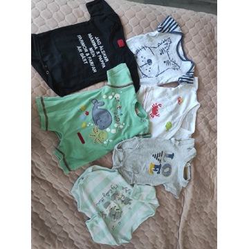 Body niemowlęce chłopięce rozm 62