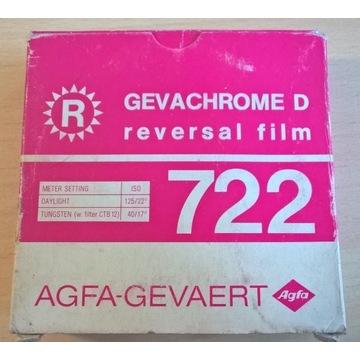 Film Agfa 16mm Gevachrome 722 100ft 30.5m