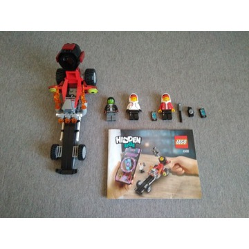 LEGO Hidden side Dragster (40408) +gratis ludzik z