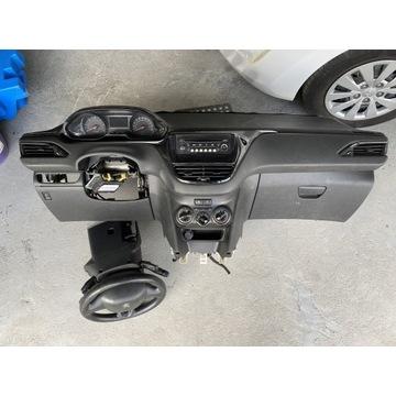 Deska rozdzielcza Konsola Peugeot 208