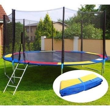 Kolorowa osłona na sprężyny do trampoliny 12ft