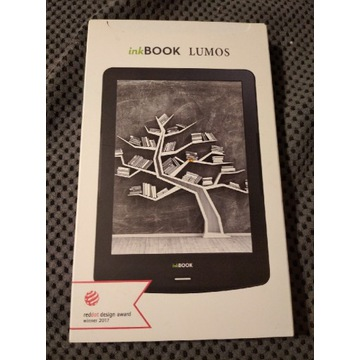Czytnik ebook ink book Lumos uszkodzony ekran