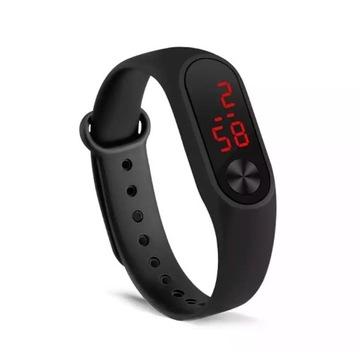 Męski Elektroniczny Zegarek Sportowy LED