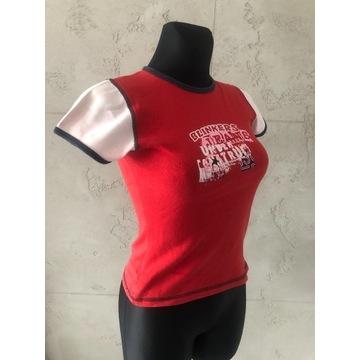 TERRANOVA Bluzka koszulka czerwona t-shirt S 36