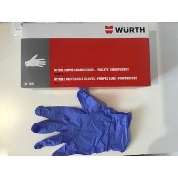 Rękawiczki Nitrylowe Wurth L wysoka jakość