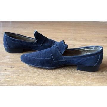 Zamszowe buty VENEZIA Made in Italy 43 28,5-29cm