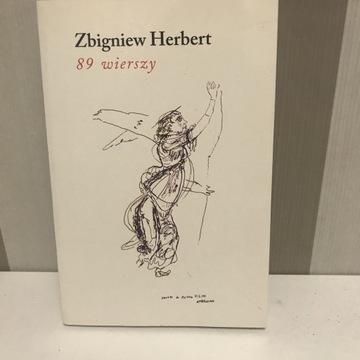 Zbigniew Herbert 89 wierszy
