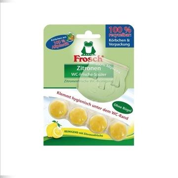 Frosch Odświeżacz WC cytrynowa z De