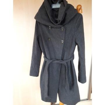 Płaszcz damski 60% wełna rozmiar 36 okazja jesień