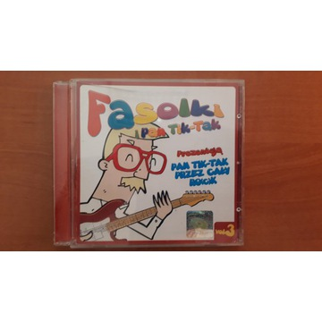 Fasolki. Pan Tik-Tak przez cały ro(c)k Vol. 3 CD