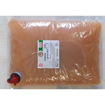 Sok jabłko gruszka 5l 100% NFC bez cukru + GRATIS
