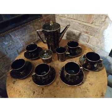 Serwis kawowy IRA Chodzież porcelana czarny