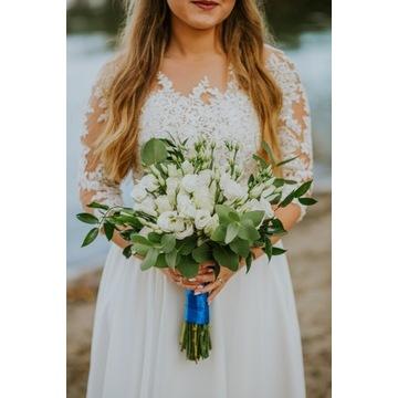 Suknia Ślubna - r. 36