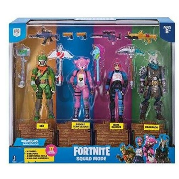 Fortnite Squad Mode 4 figurki FNT0019 EPIC GAMES