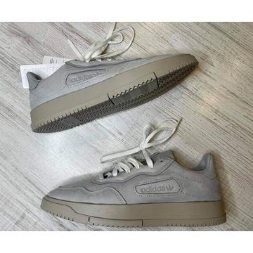 Buty skórzane adidas szare sc premiere 40 2/3