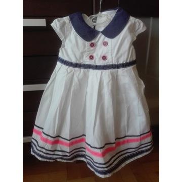 Sukienka COOL CLUB dziecięca r 86 Śliczna