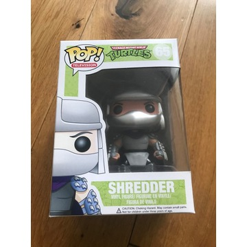 Funko POP Shredder 65 TMNT Unikat Figurka Retro