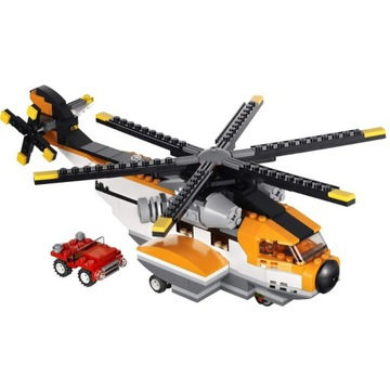 Lego Creator 3w1 7345 helikopter , prom, samolot