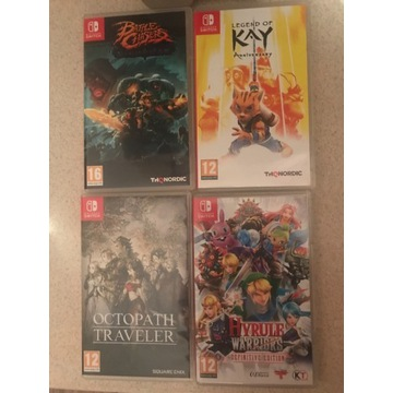 4 Gry nintendo switch kay hyrule octopath chasers