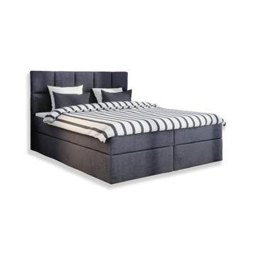 Podwójne łóżko kontynentalne OLIWIA 140x200