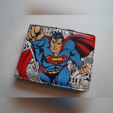 Portfel Superman Comics Marvel orginal