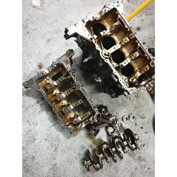 Silnik blok wał tloki podstawa bloku  f20 N13B16A