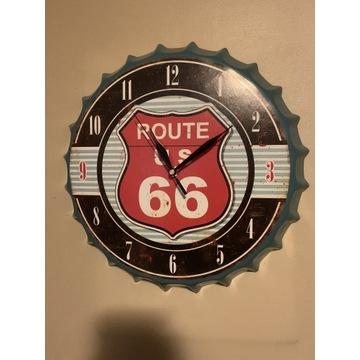 Zegar Ścienny Route 66 Kapsel