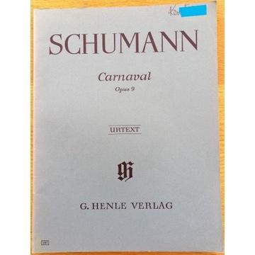 """SCHUMANN """"Carnaval"""" Opus 9"""
