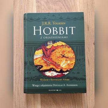 Hobbit z objaśnieniami - J.R.R. Tolkien