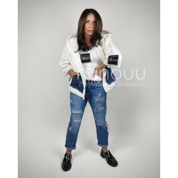 Spodnie slouchy jeansy Vivian minouu rozmiar S