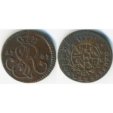 grosz 1767/G, Kraków -ładny-